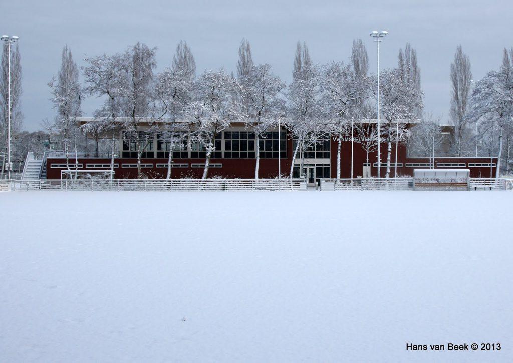 Amstelveen Heemraad in de sneeuw