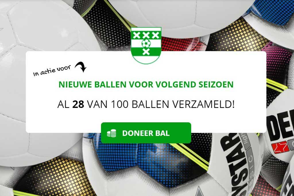 Doneer een bal aan Amstelveen Heemraad