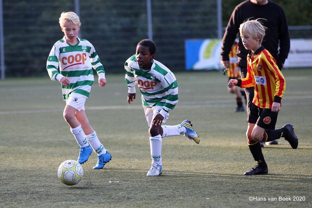 Amstelveen Heemraad JO9-1 - Sporting Martinus JO9-6