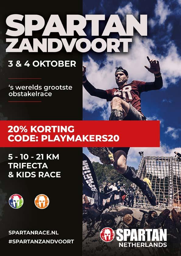 Korting Spartan Zandvoort leden vv Amstelveen