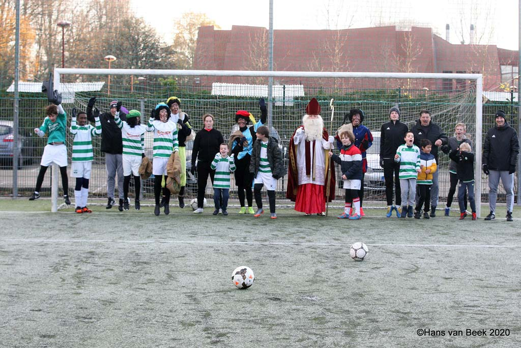 Sinterklaas en pieten bij G Force Amstelveen Heemraad